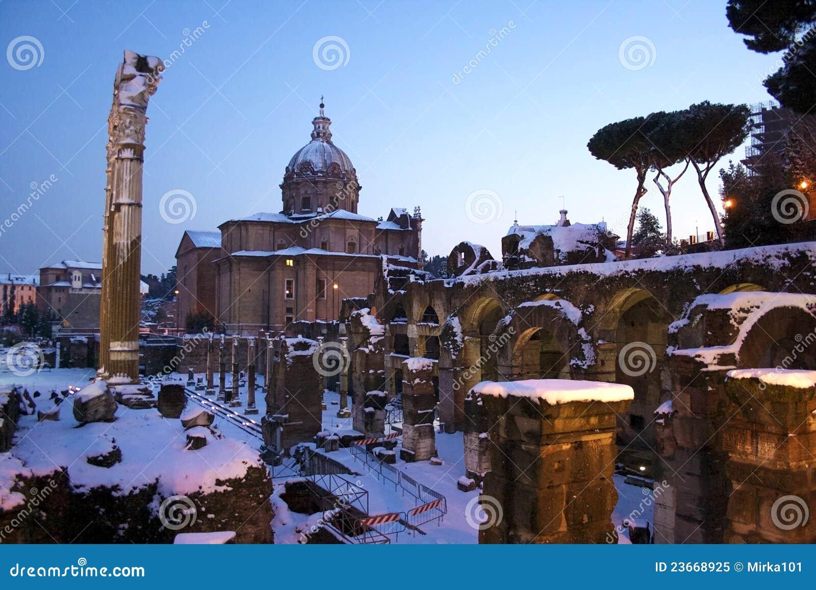 Roma na neve