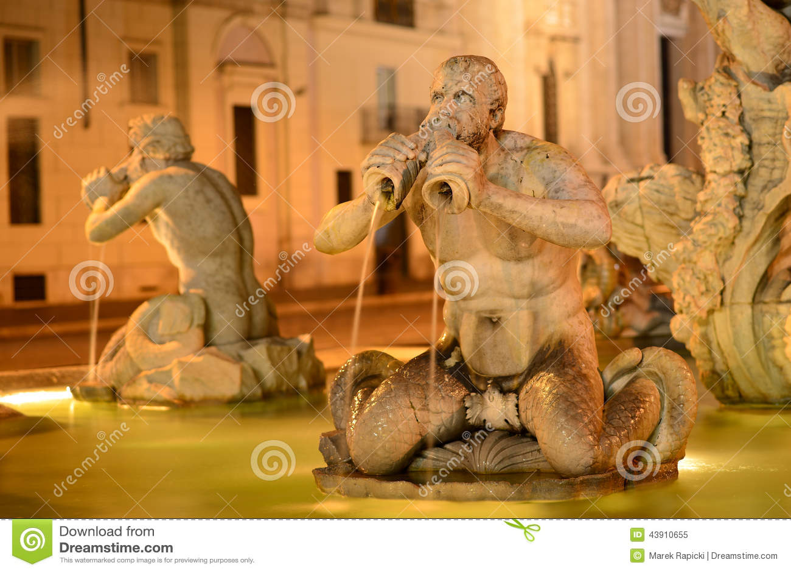 Roma, praça Navona