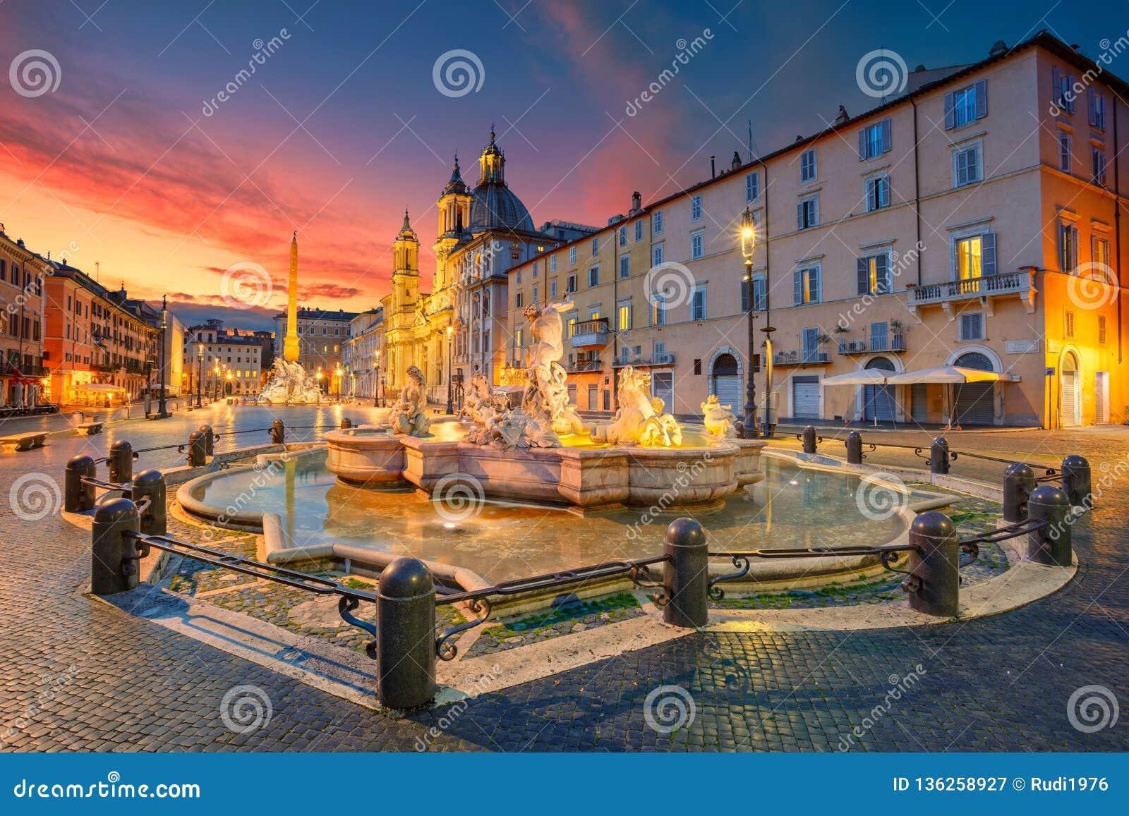 Roma, quadrato di Navona