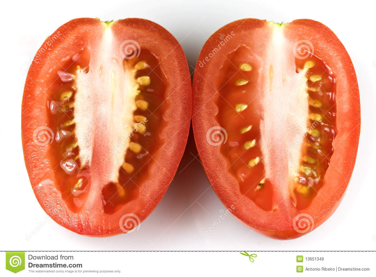 how to cut roma tomatoes