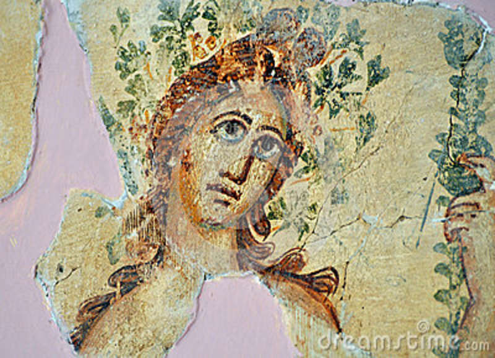 Romain mozaika, Leptis Magna