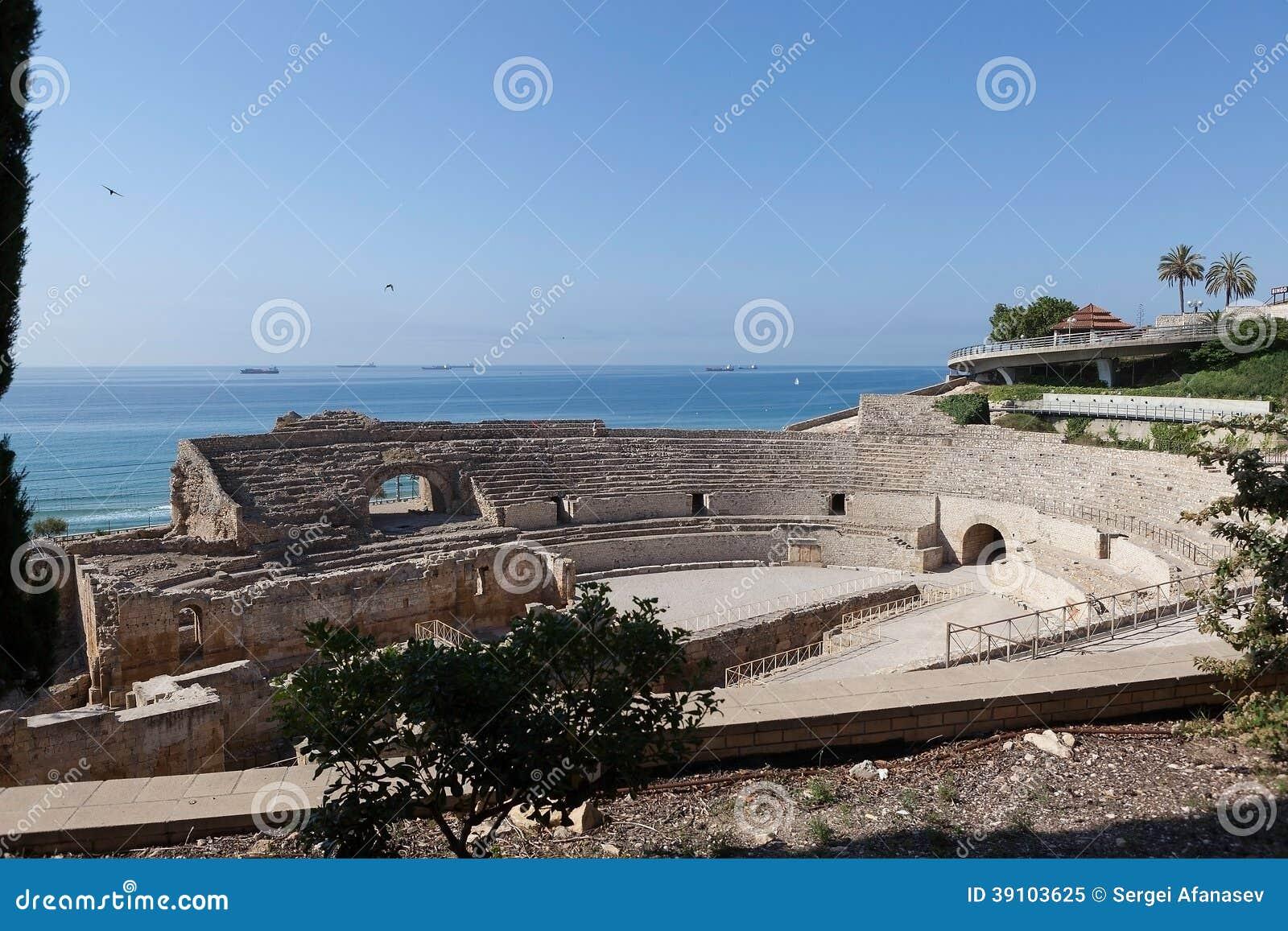 Roman amfitheater. Tarragona