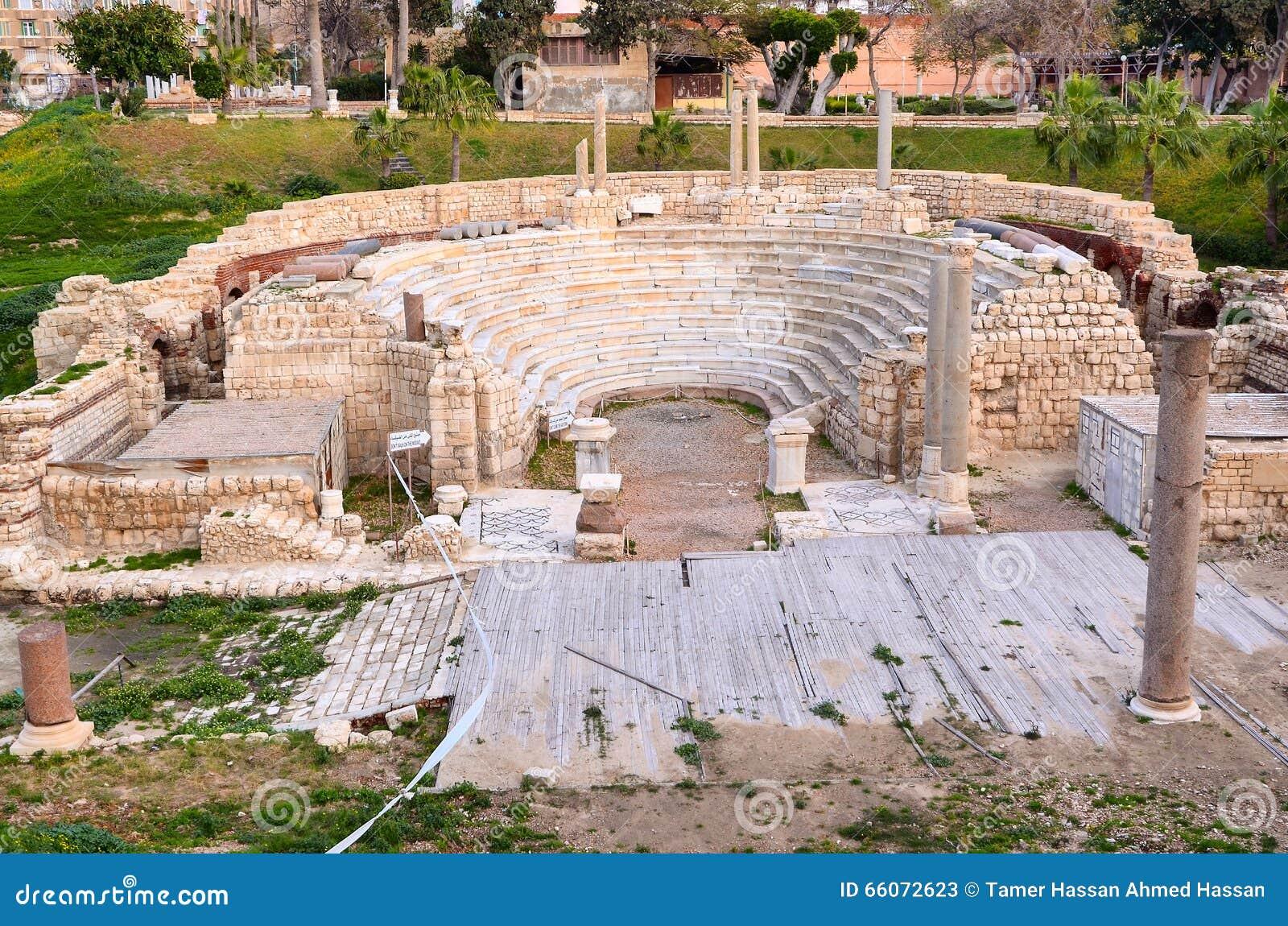 Roman Amphitheatre de Alexandria