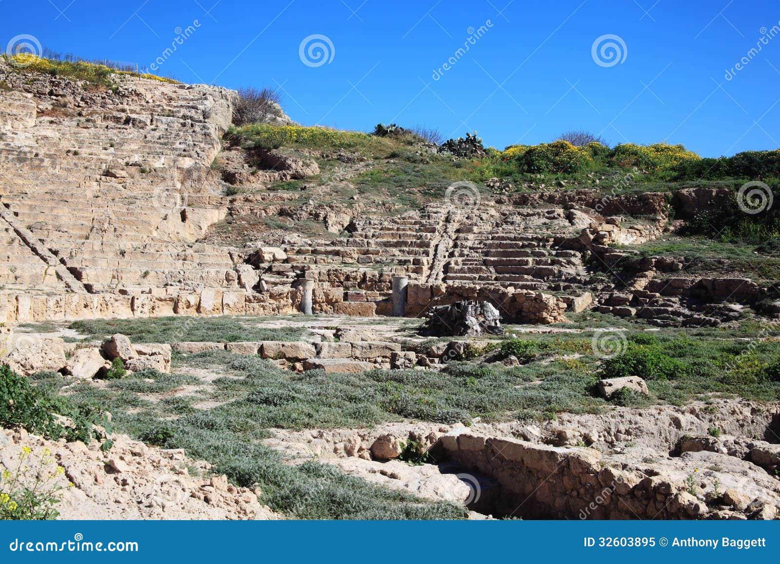 Roman Amphitheatre, Paphos, Chipre
