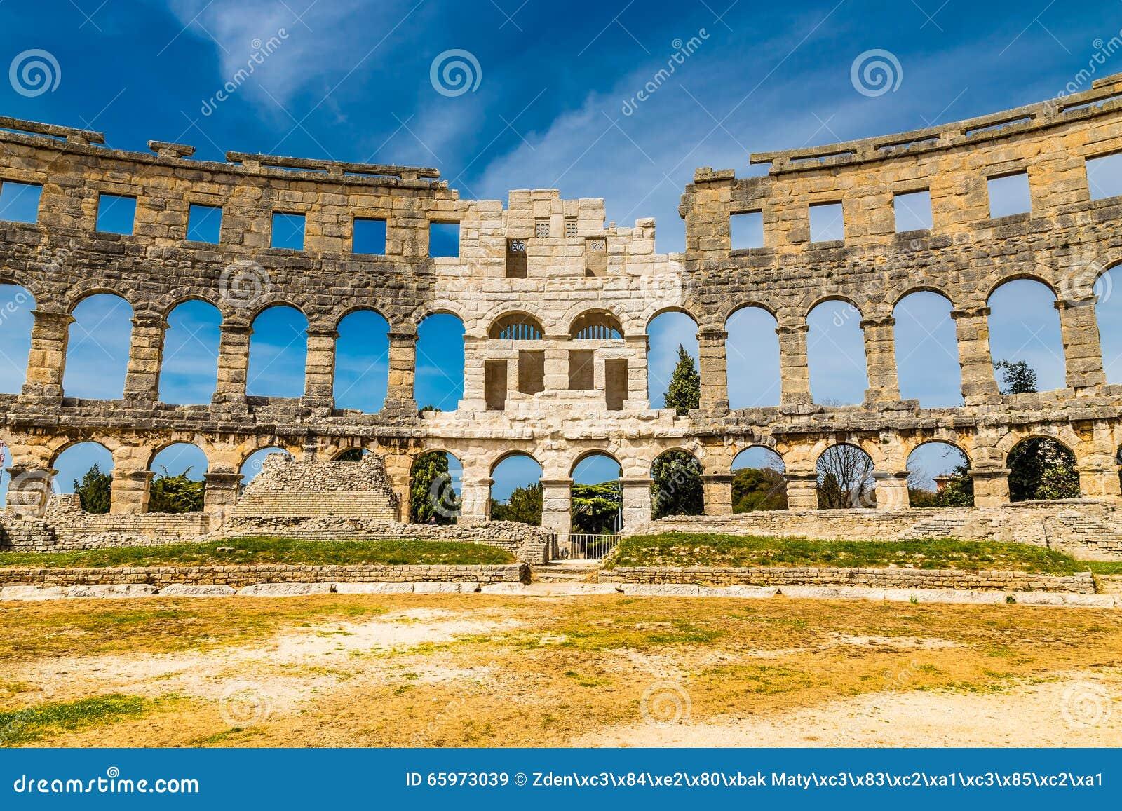 Roman Amphitheatre Pula Arena-Pula, Istria, Croácia