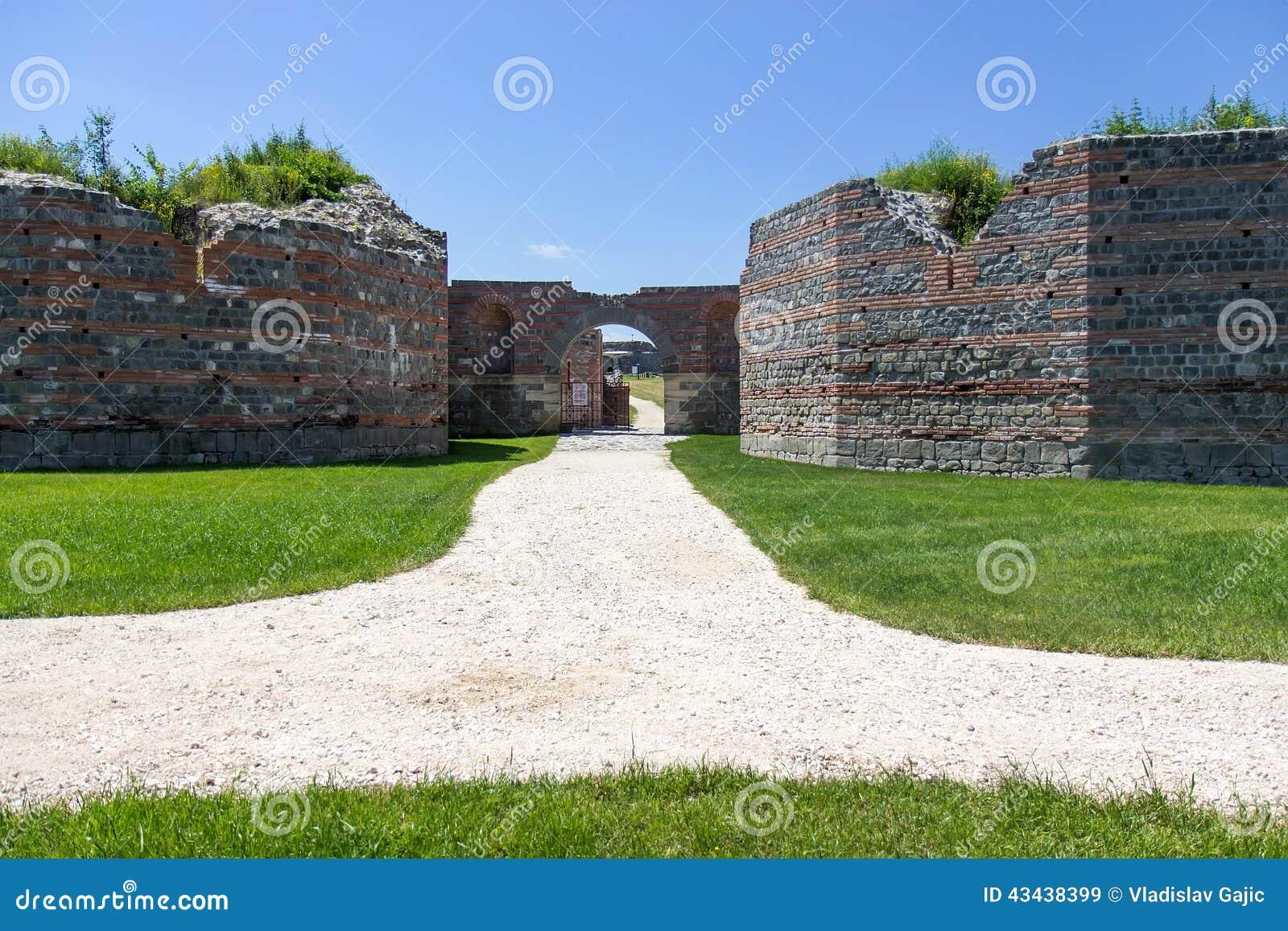 Roman archeological site, Gamzigrad