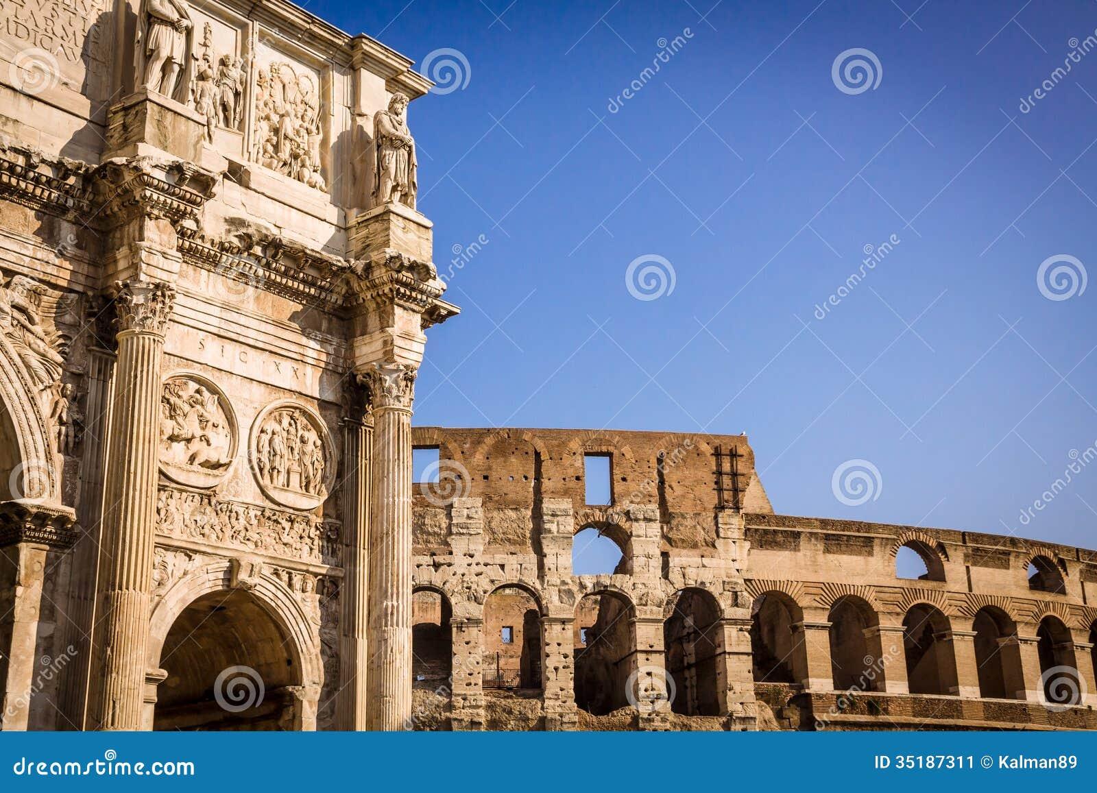 Ancient Roman Architecture Arch Roman Architecture