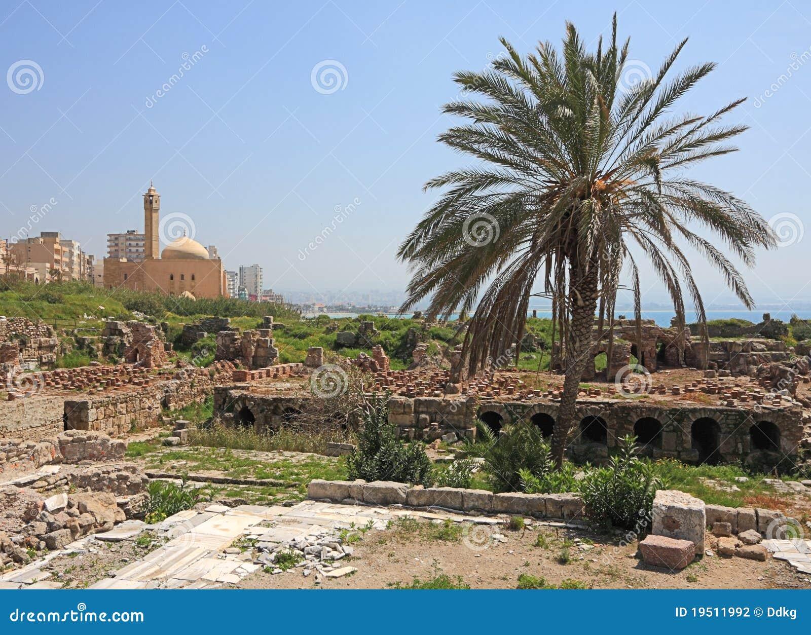 Roman Baden bij de Archeologische Plaats van de Band, Libanon