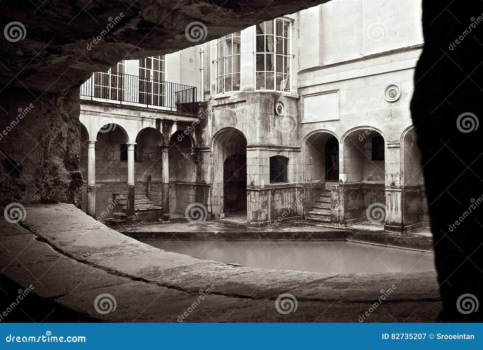 Roman Baths Alcove na cidade do banho Reino Unido