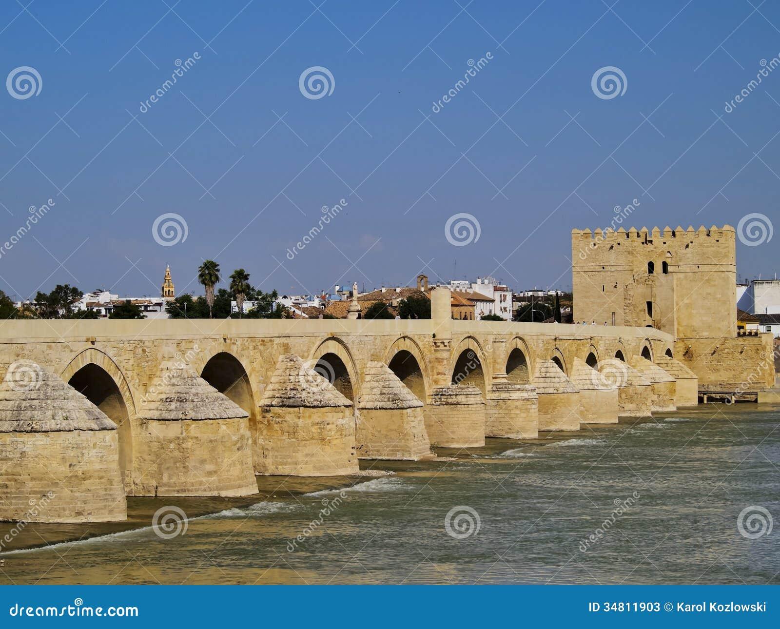 The Roman Bridge In Cordoba, Spain Stock Photos - Image: 34811903