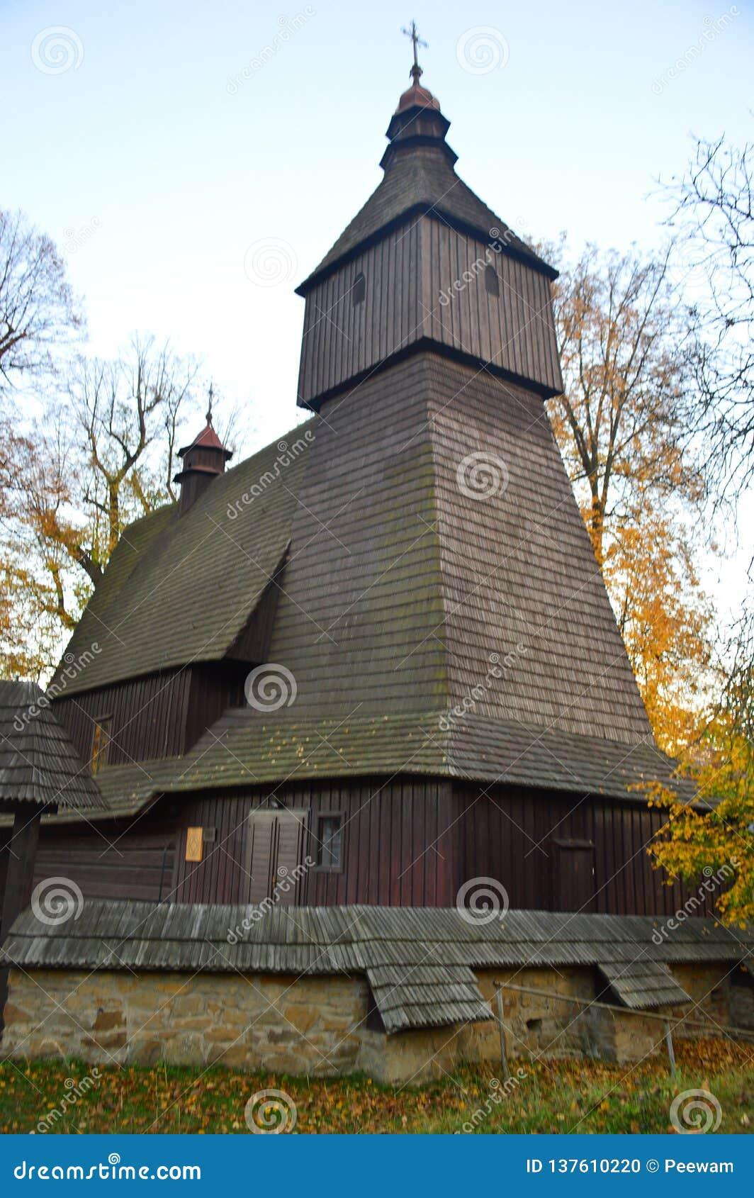 The Roman Catholic Wooden Church Of St Francis Of Assisi Hervartov