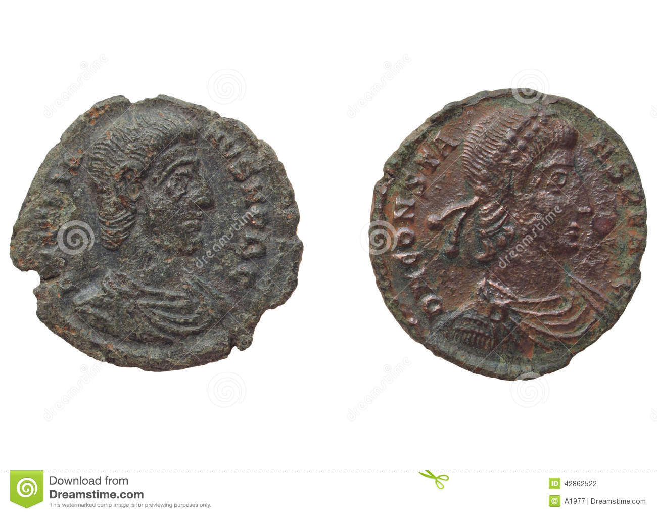 dating roman coins