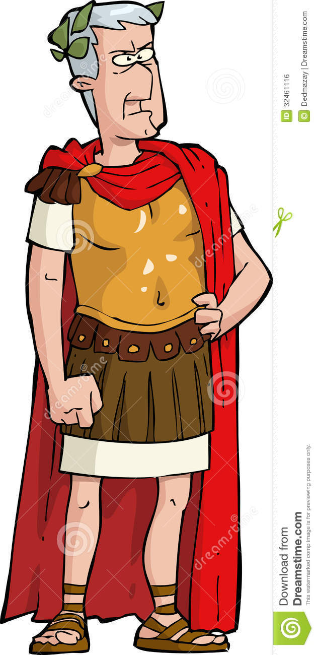 Time Travel Cartoon About Ancient Rome