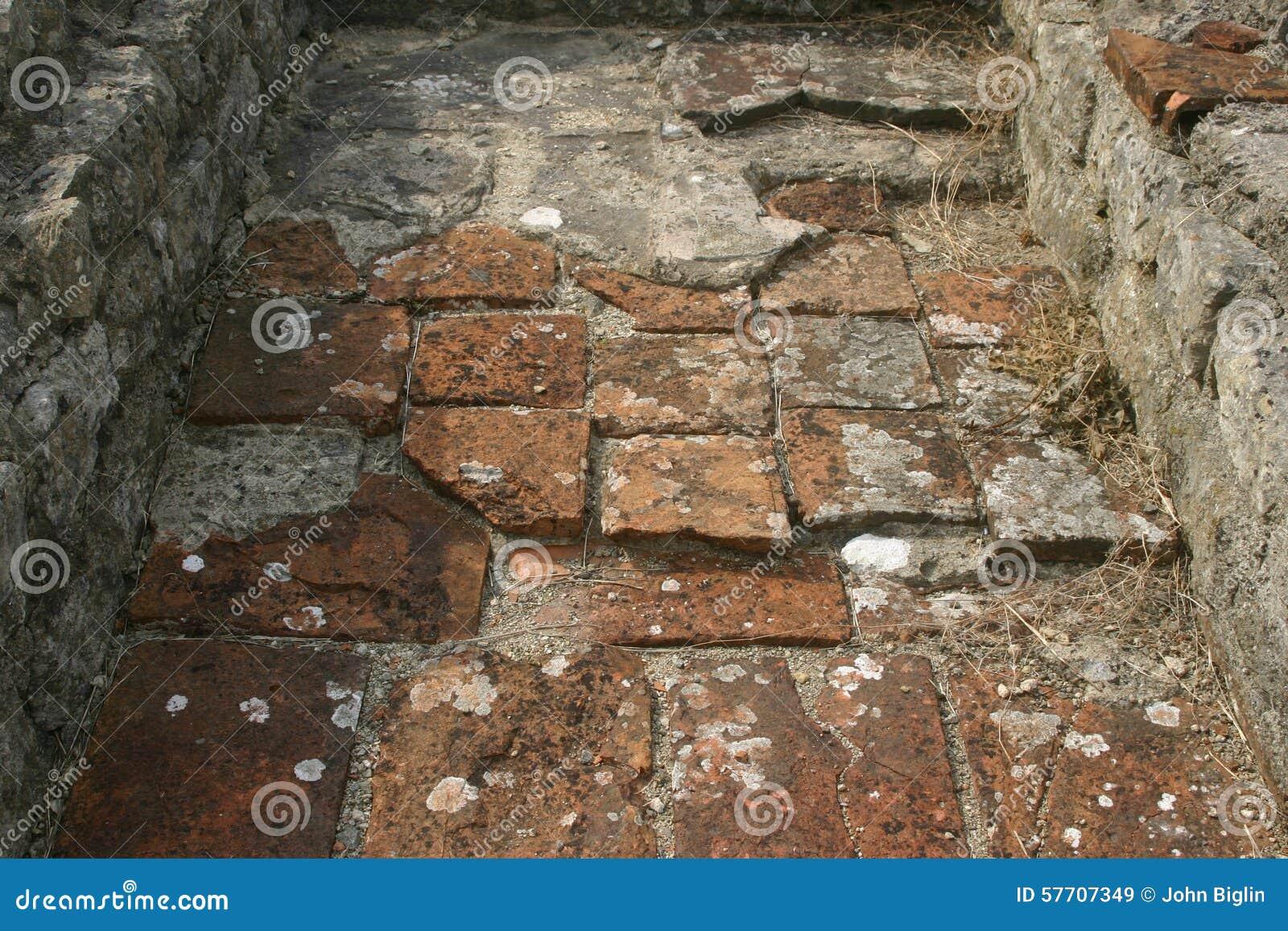 Roman Villa Floor Tiles Stock Image Image Of Ancient 57707349