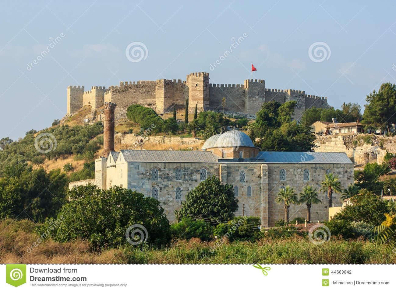 Roman Fortress In Selcuk Stock Photo - Image: 44669642