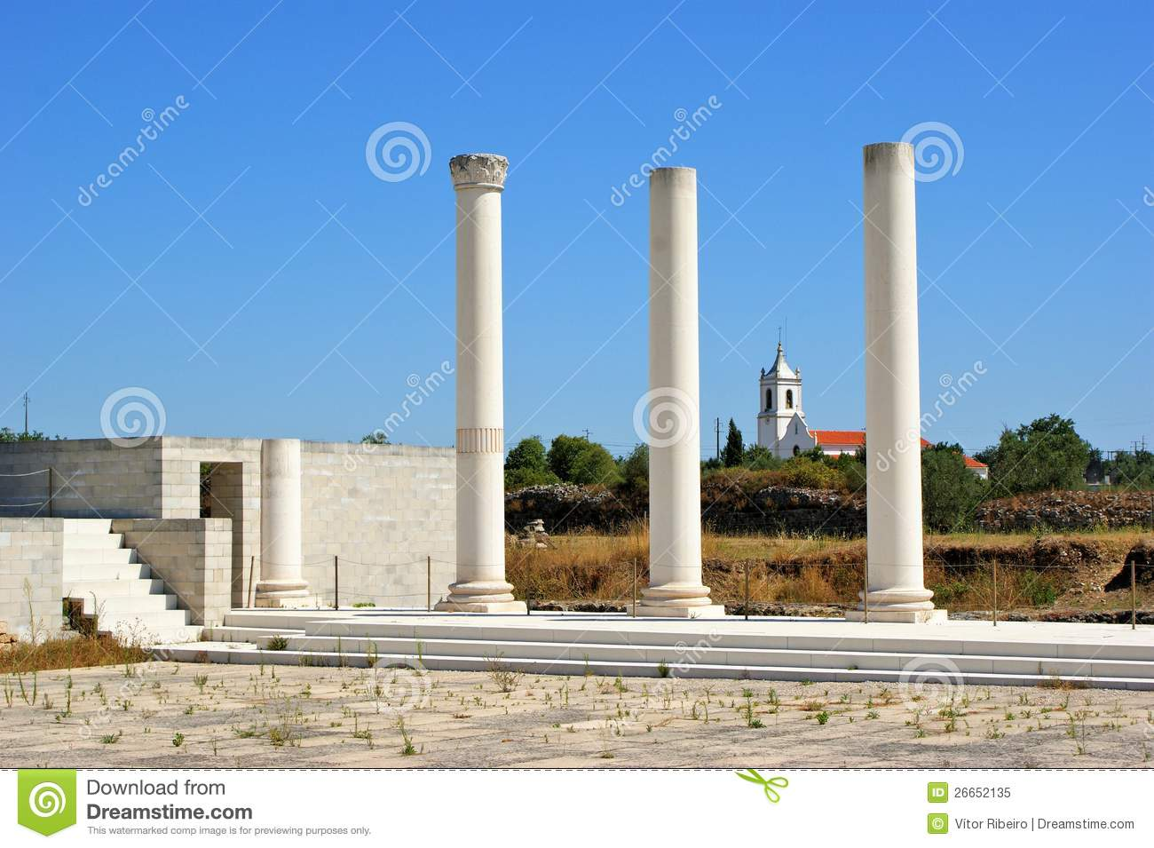 Roman forum of Conimbriga