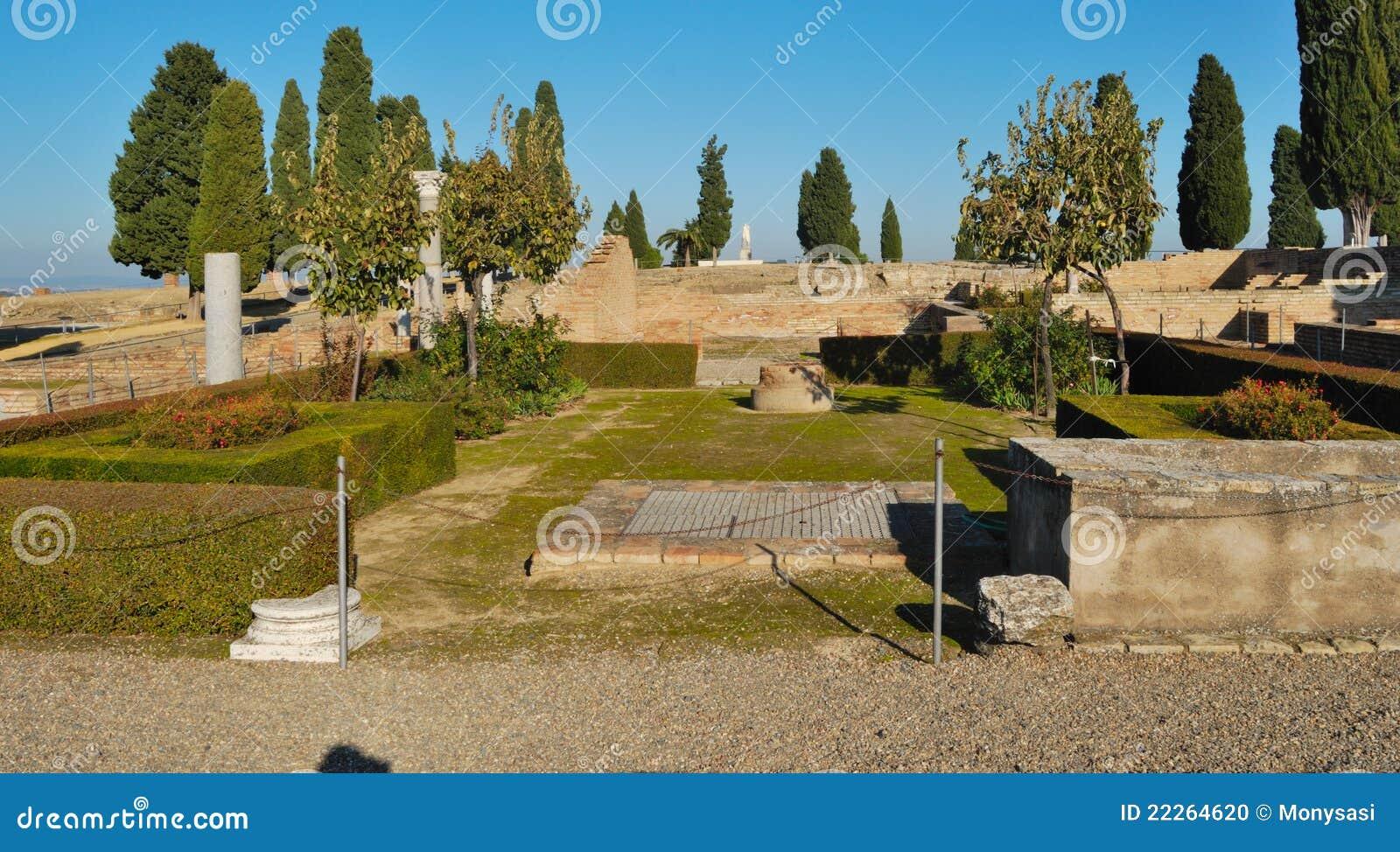 Roman Garden Stock Photo Image 22264620