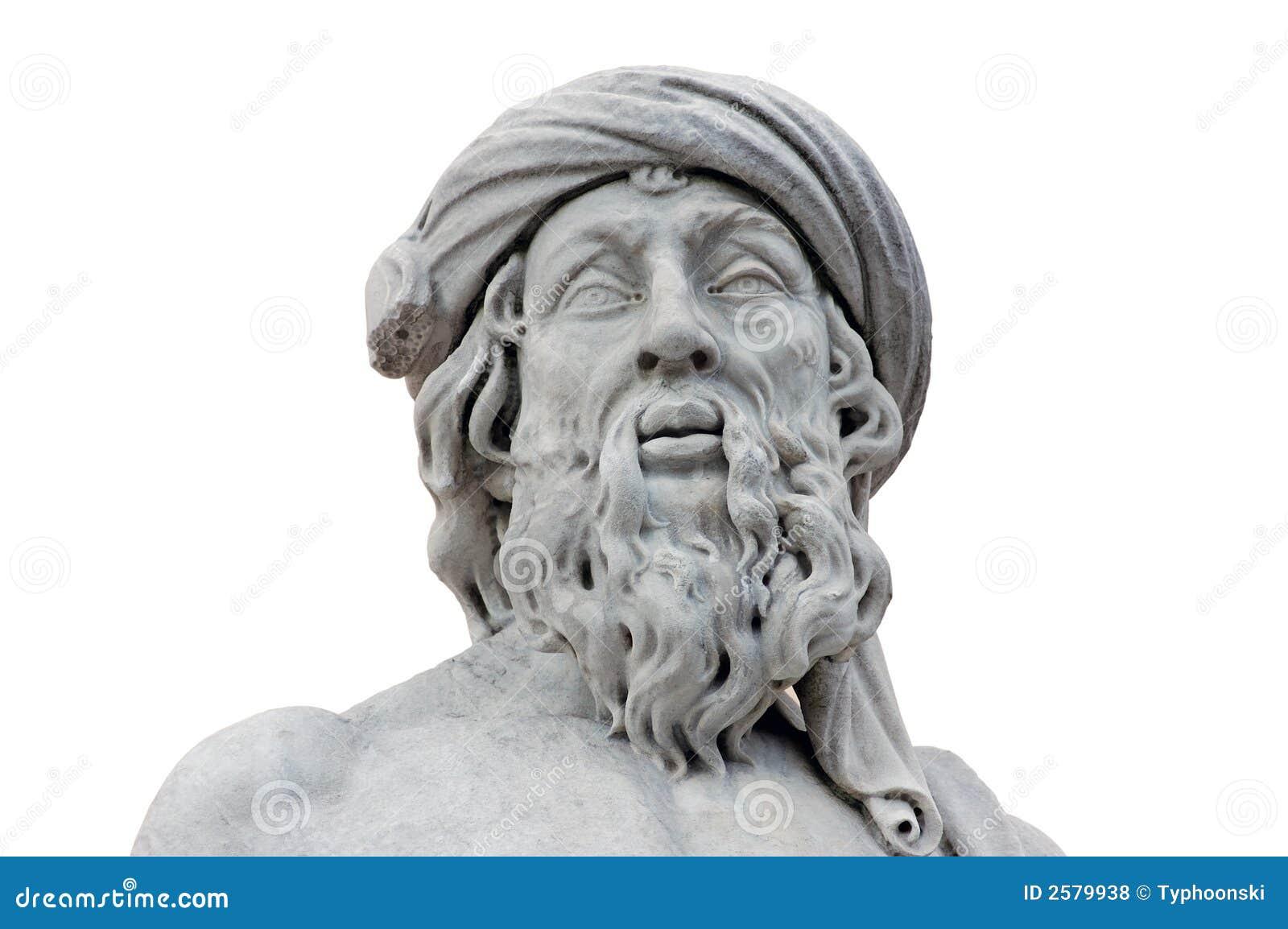 Roman Geïsoleerd Standbeeld