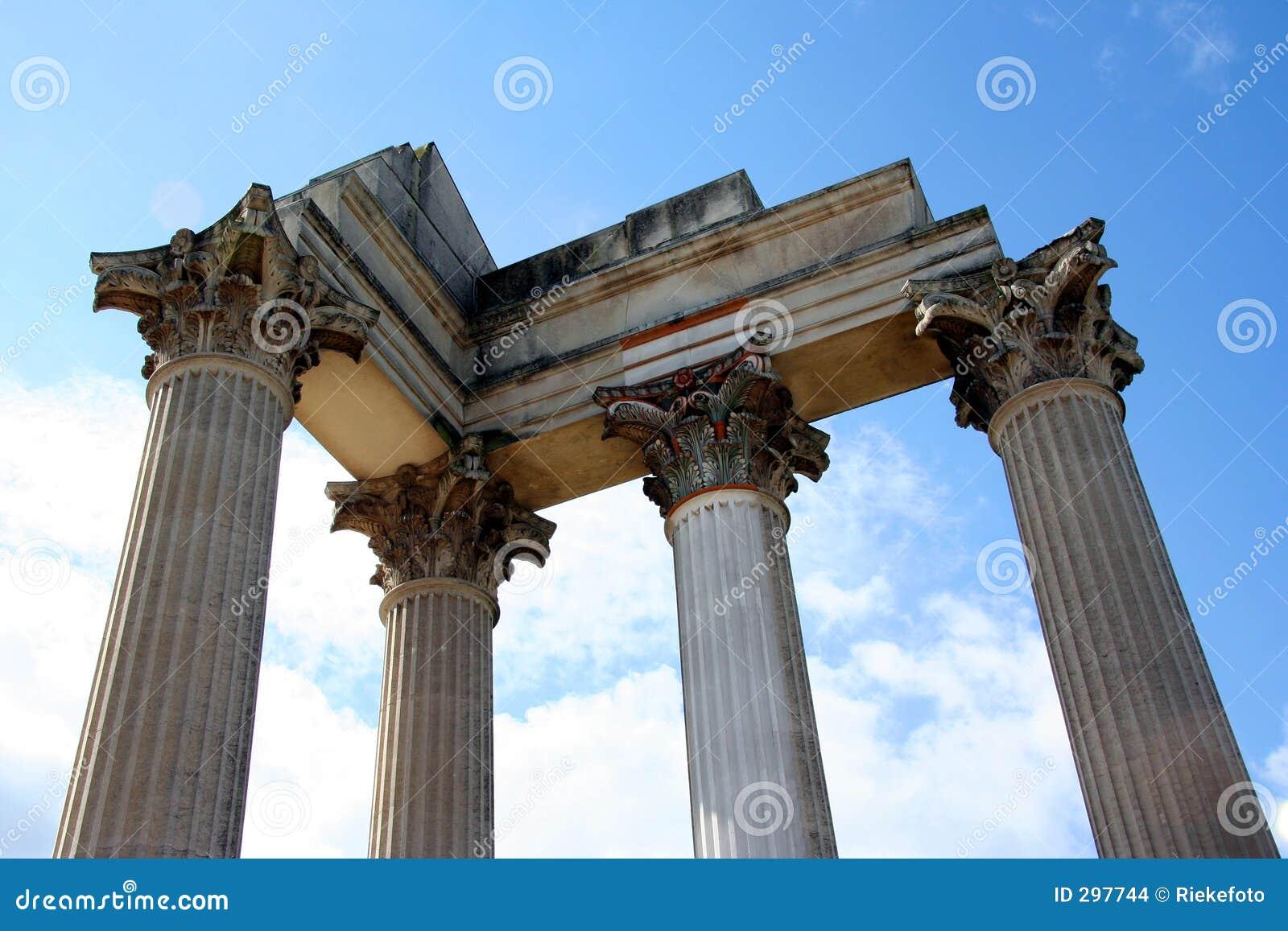 Roman Harbor Temple Stock Images - Image: 297744