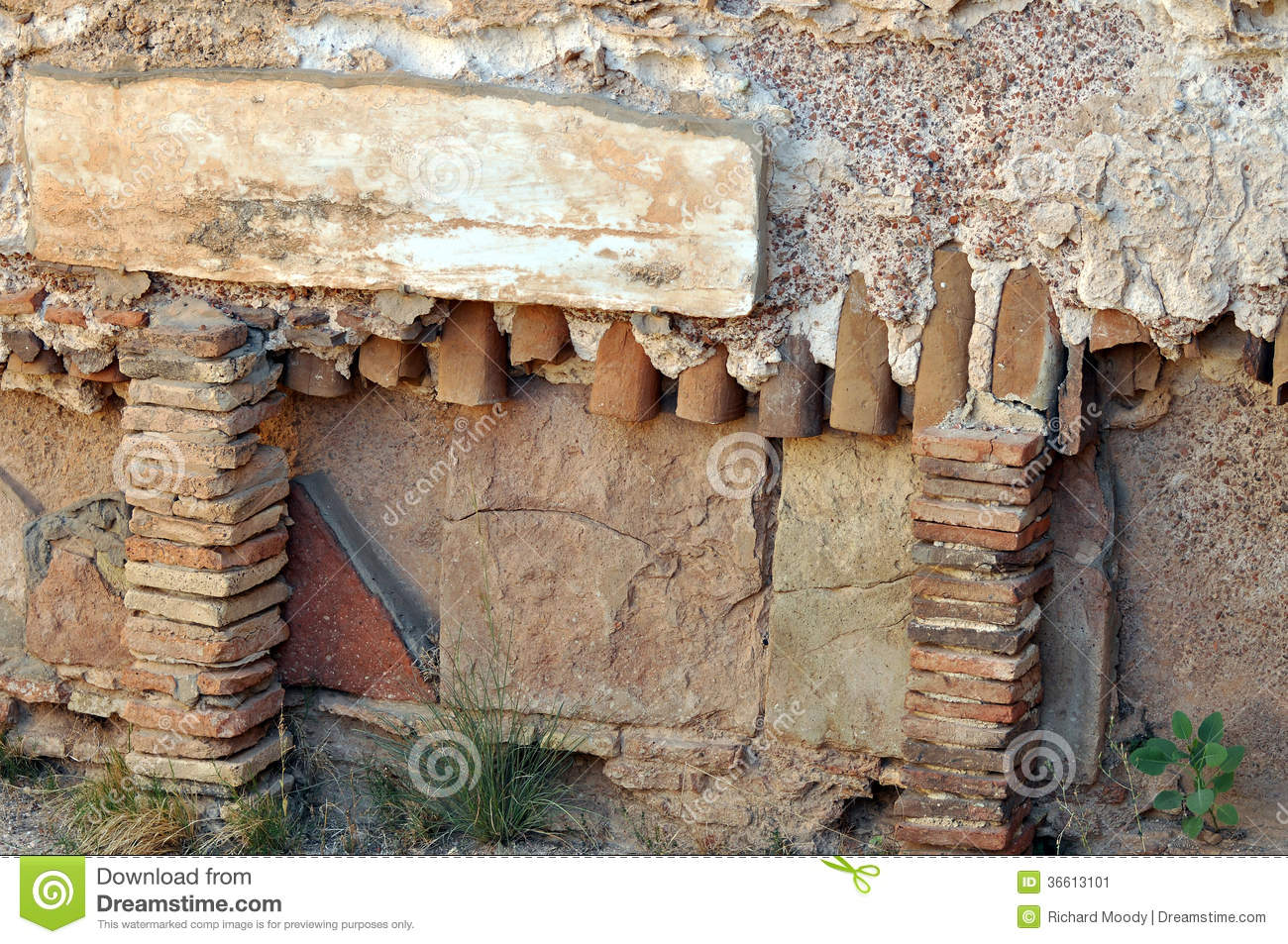Roman Heating Pipes