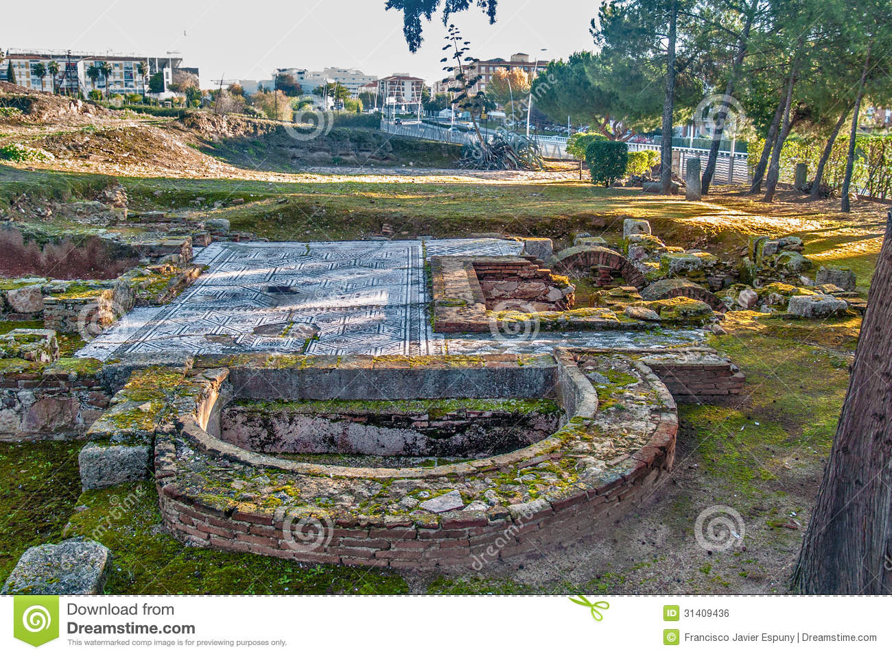 Download Roman House Archeological Site 2 Stock Photo - Image of civilization, building: 31409436