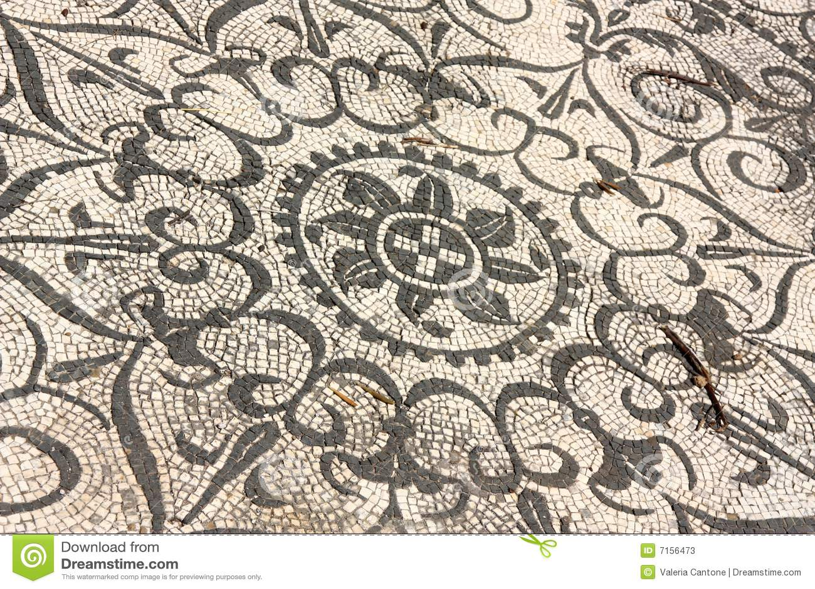 Roman italy mosaik