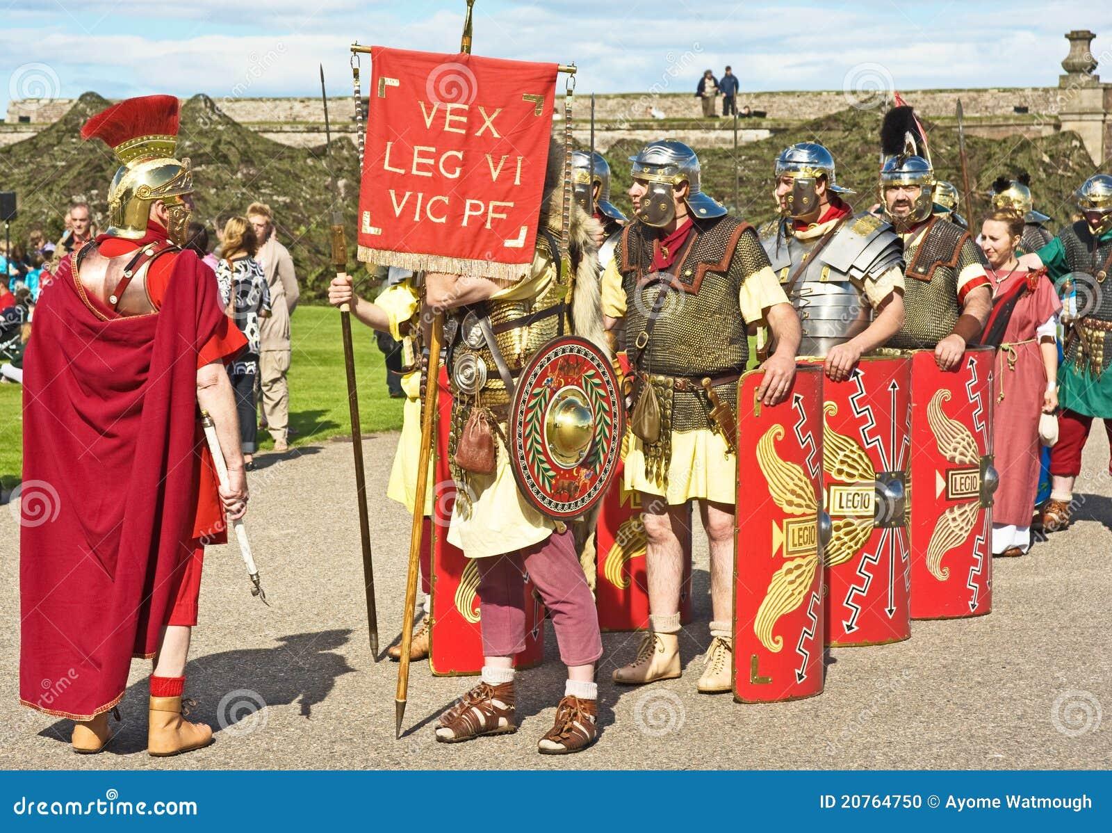 Roman Legion Editorial Image Image 20764750