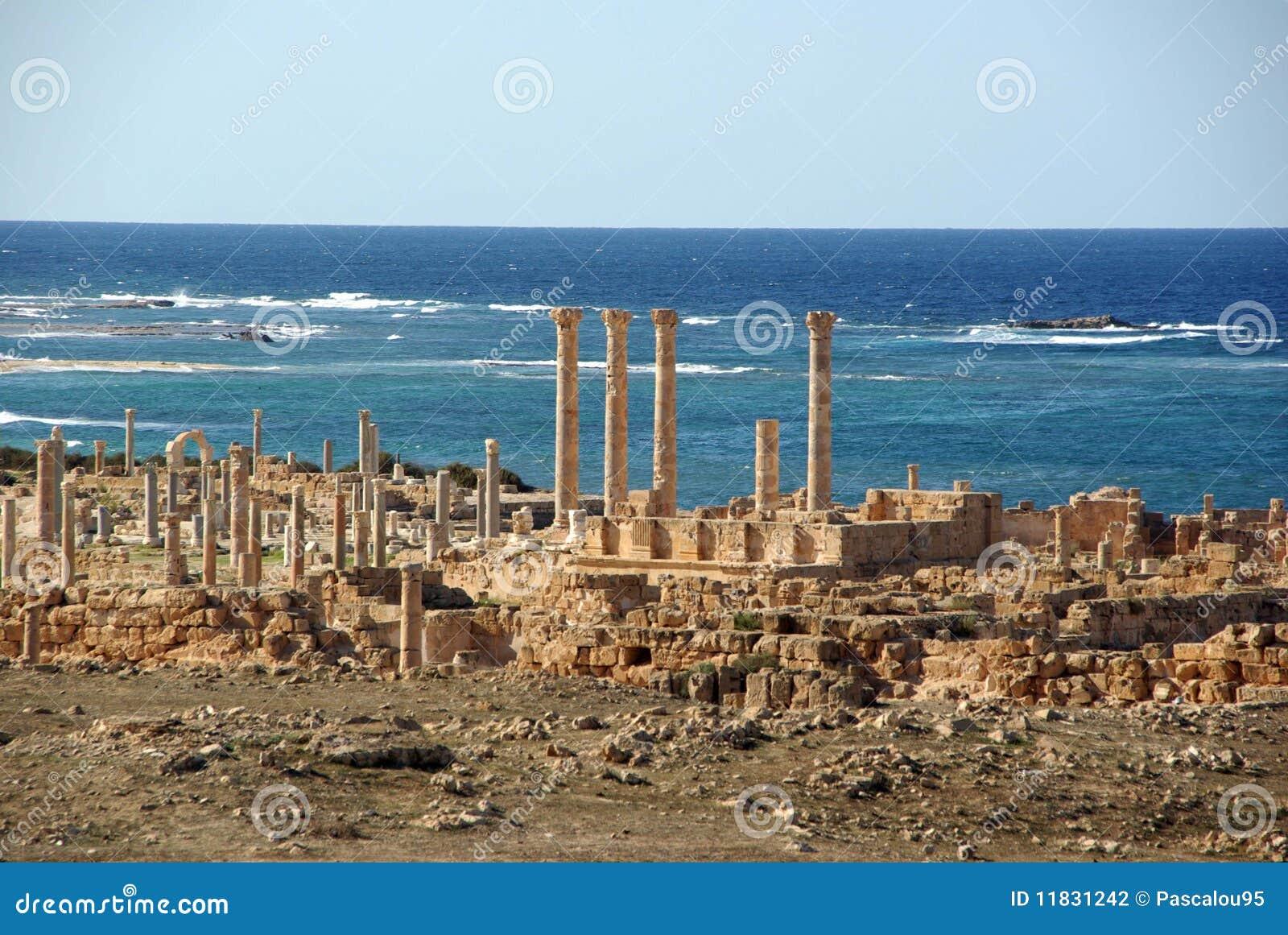 Roman libya fördärvar sabratha