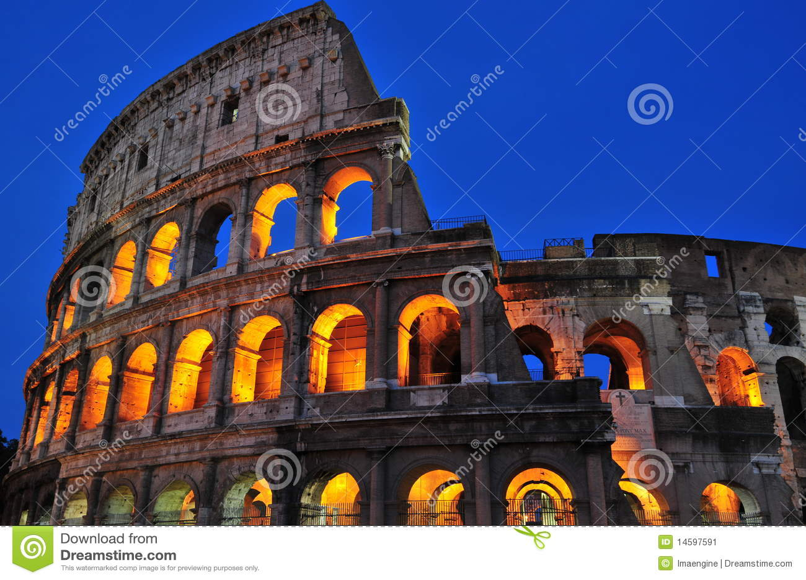 Roman nights (the Coliseum)