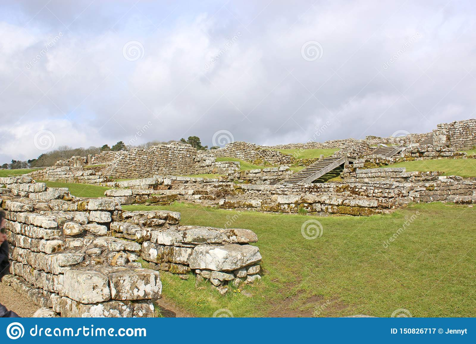 Roman remains at Housesteads