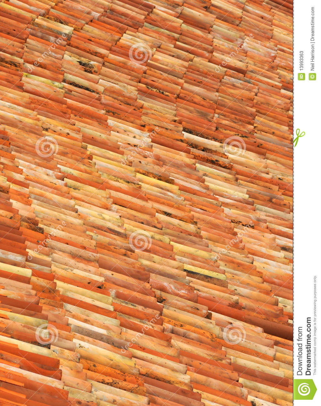 Roman Roof Tiles Stock Image Image Of Tiles Clay