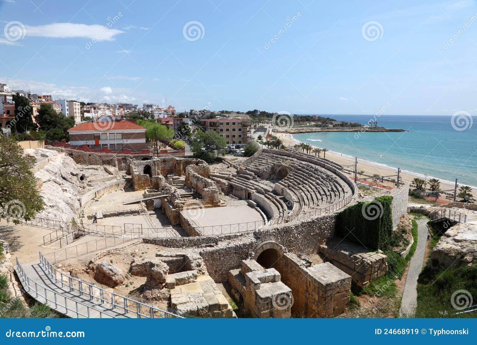 Tarragona Spain  City pictures : Roman Ruins In Tarragona, Spain Royalty Free Stock Images Image ...