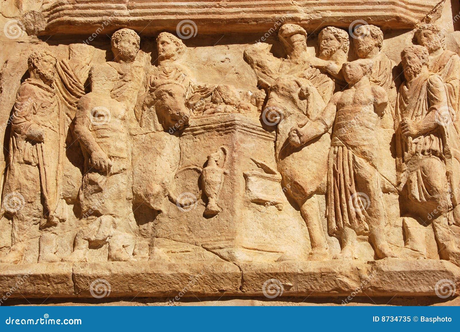 Roman Sacrifice frieze