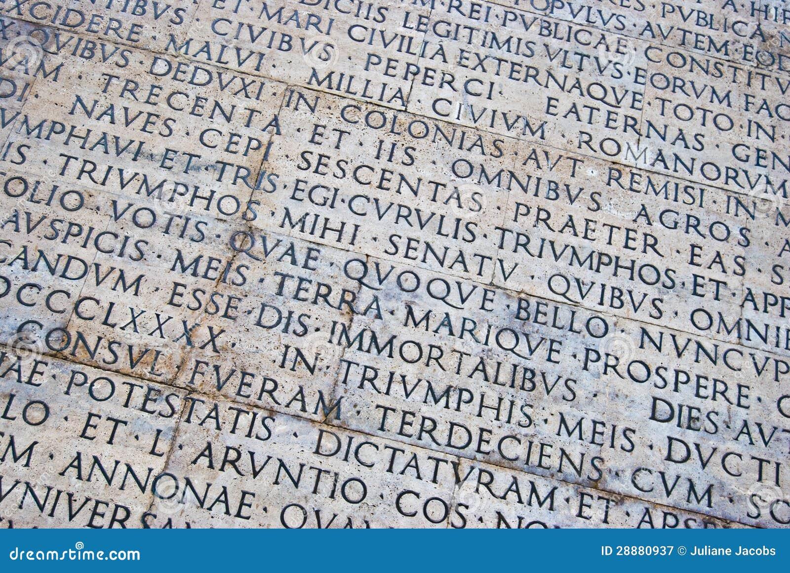 Roman scripture