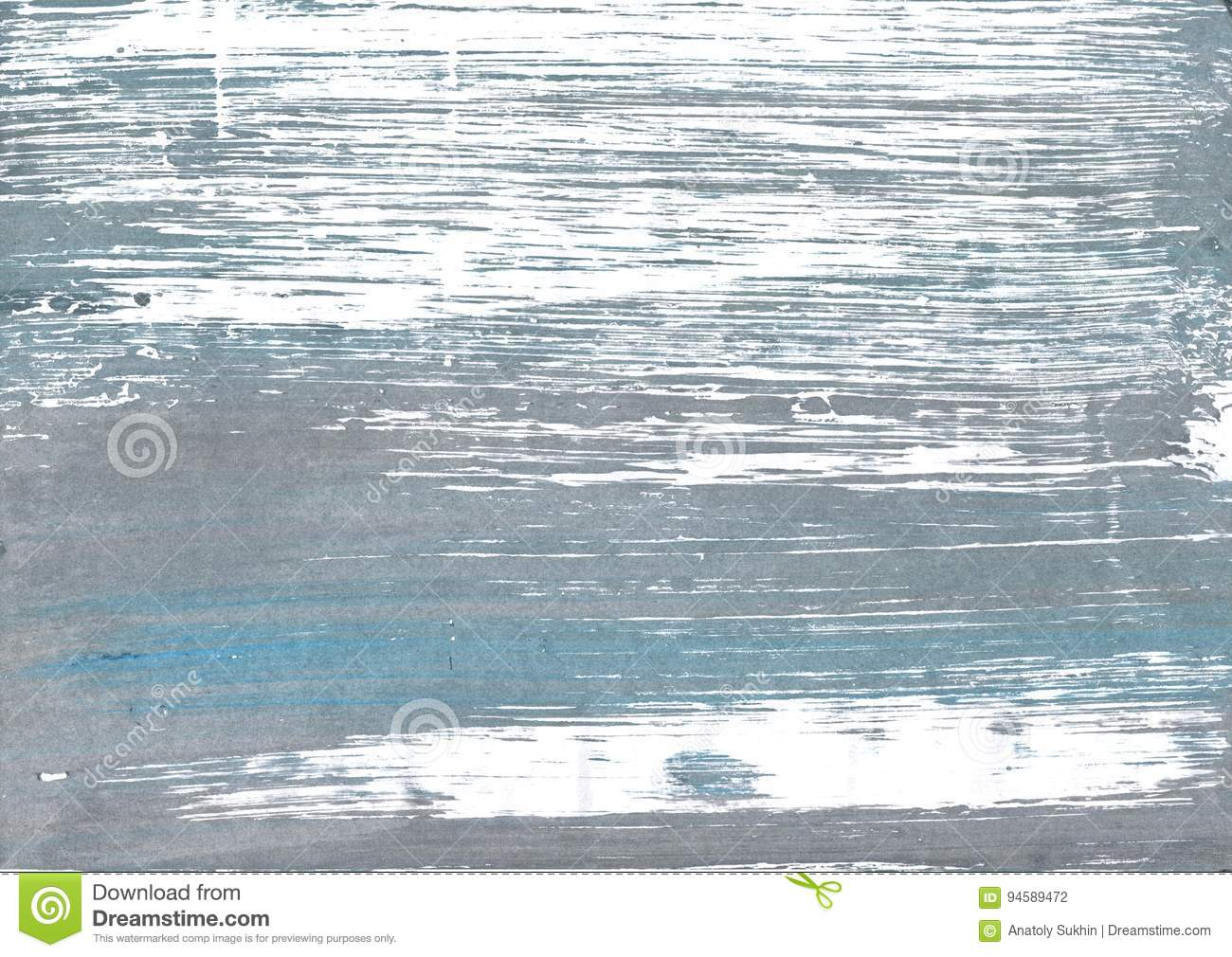 Roman Silver Abstract Watercolor Background Stock Photo