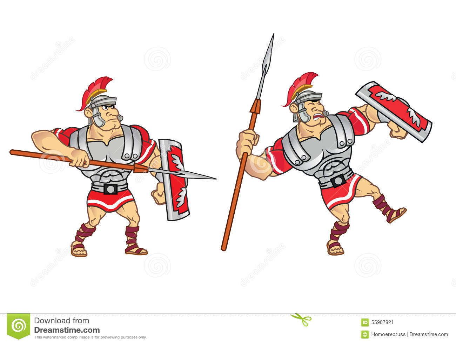 roman soldier game sprite stock vector image 55907827