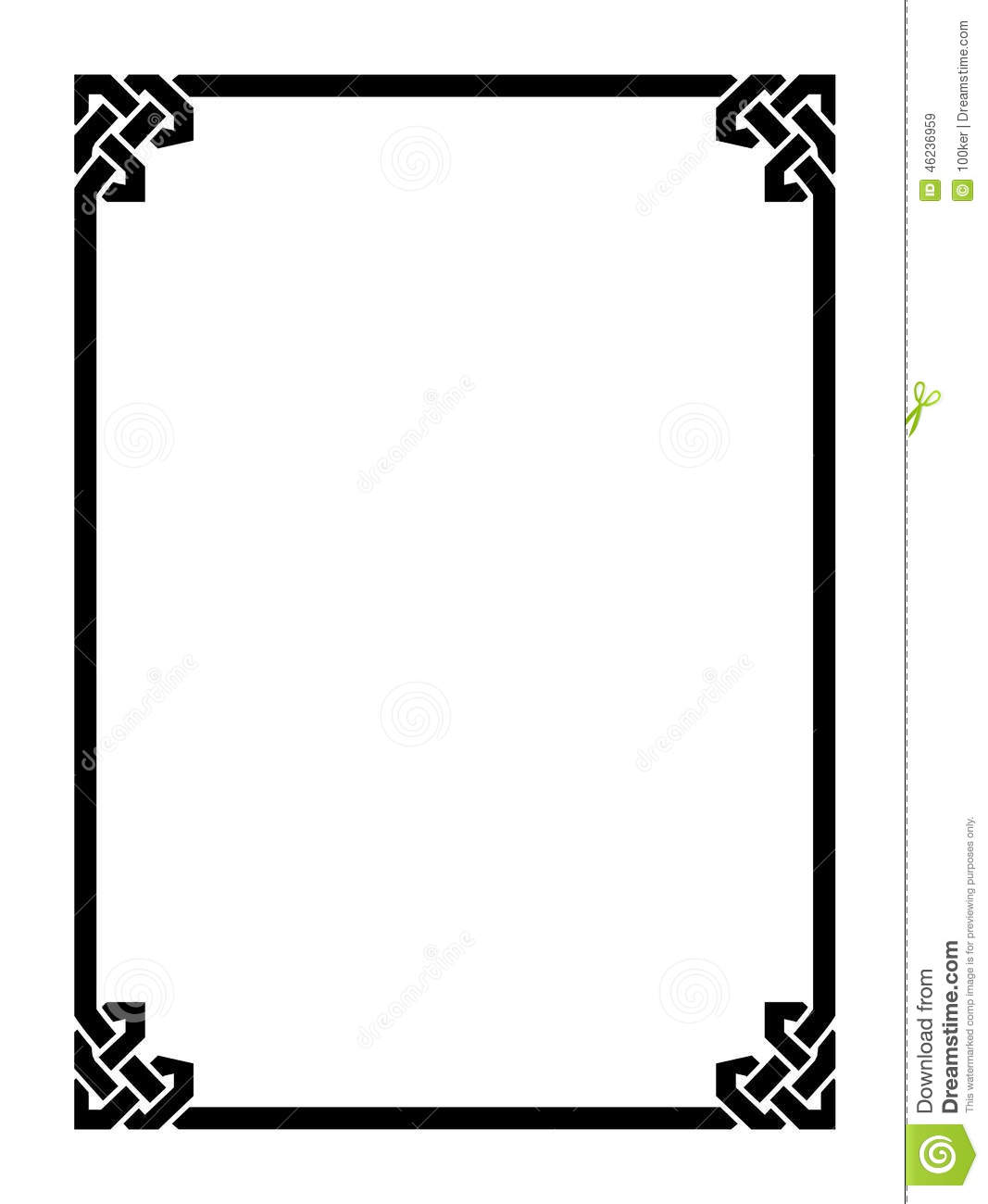 free simple frame clipart awesome graphic library