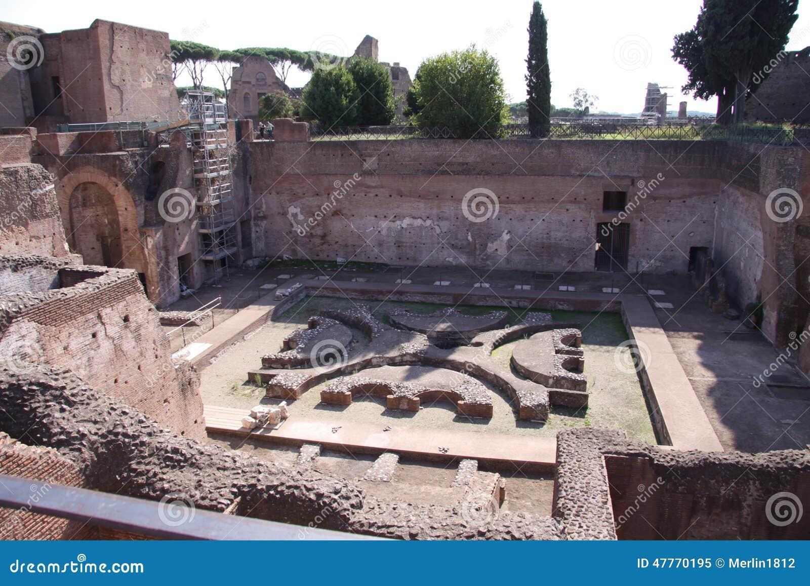 Roman Sunken Garden