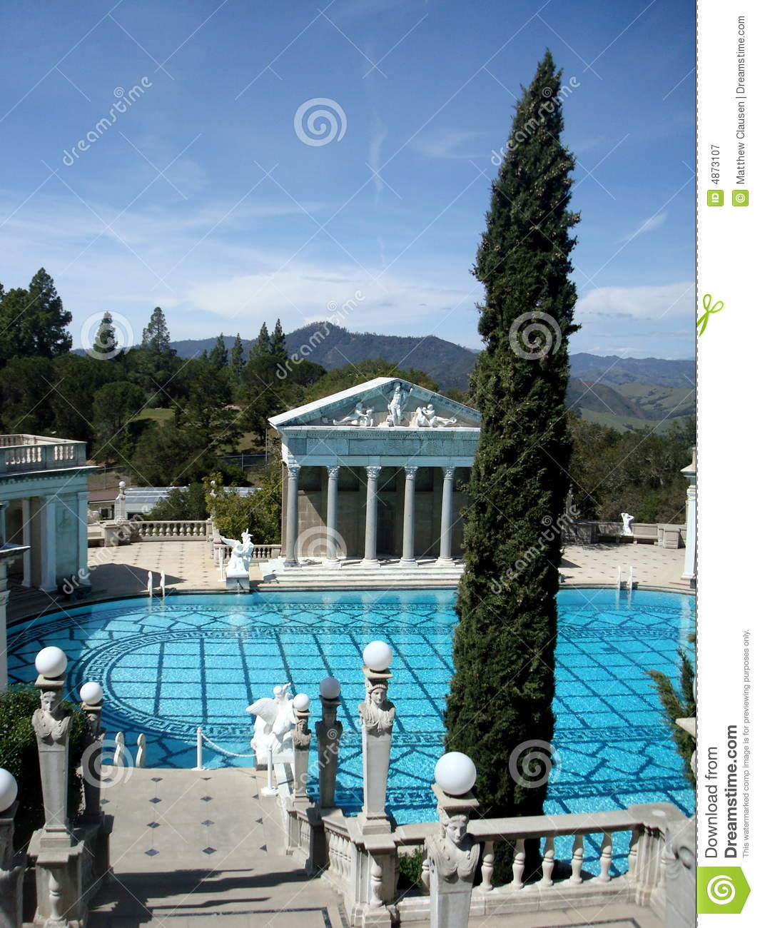 Roman Swimming Pool Editorial Photography Image 4873107