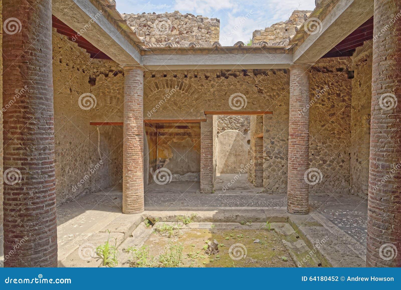 Roman villa, Pompeii
