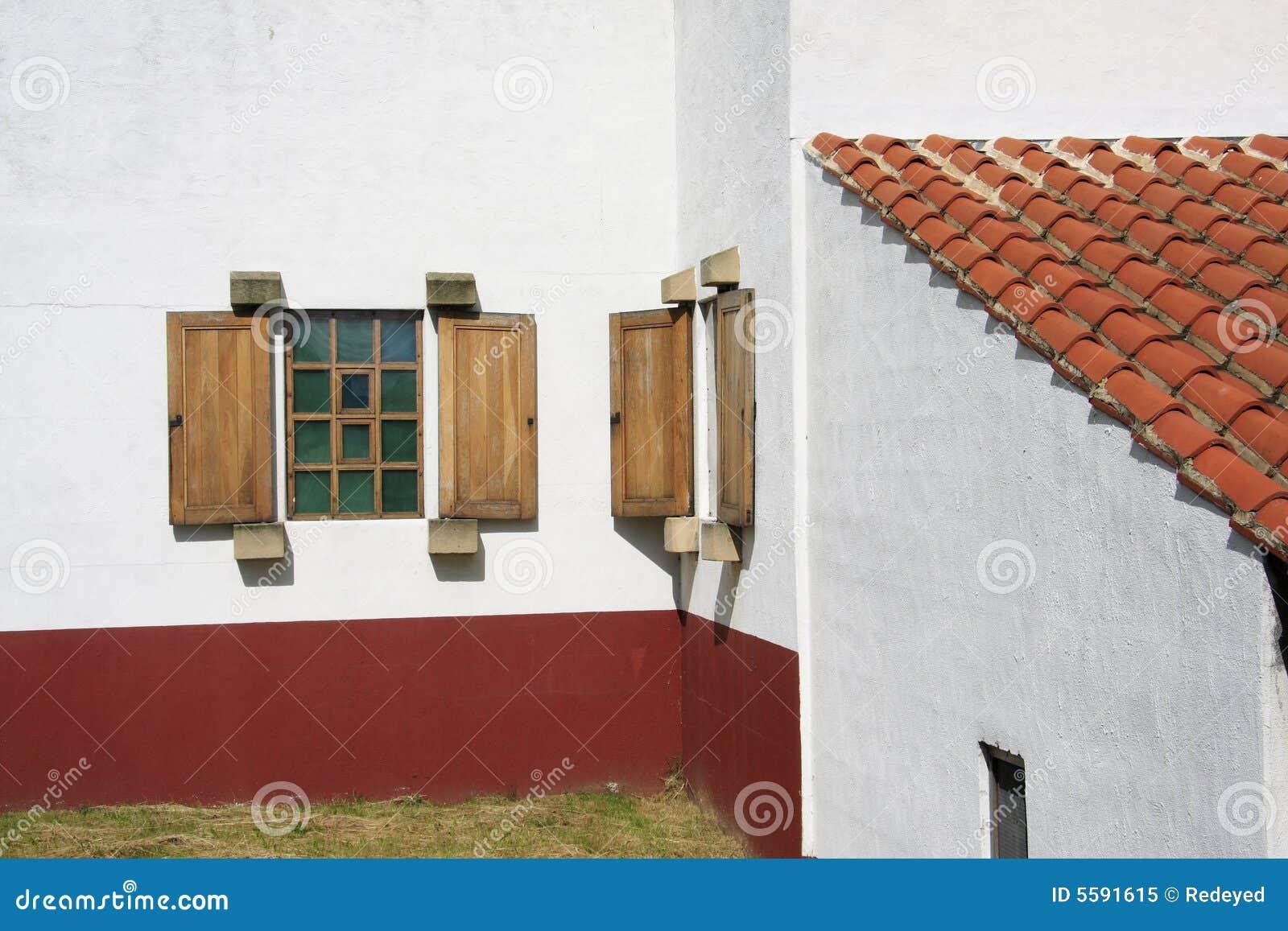 Roman Villa Windows Royalty Free Stock Photo Image 5591615