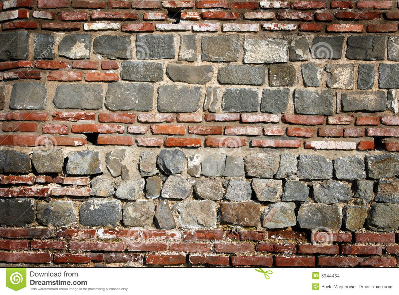 Roman Wall Background Stock Images - Image: 6944464