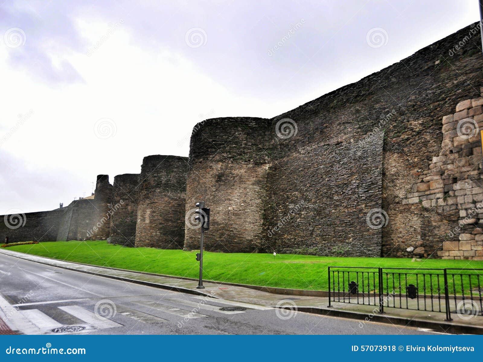 Roman Walls van Lugo