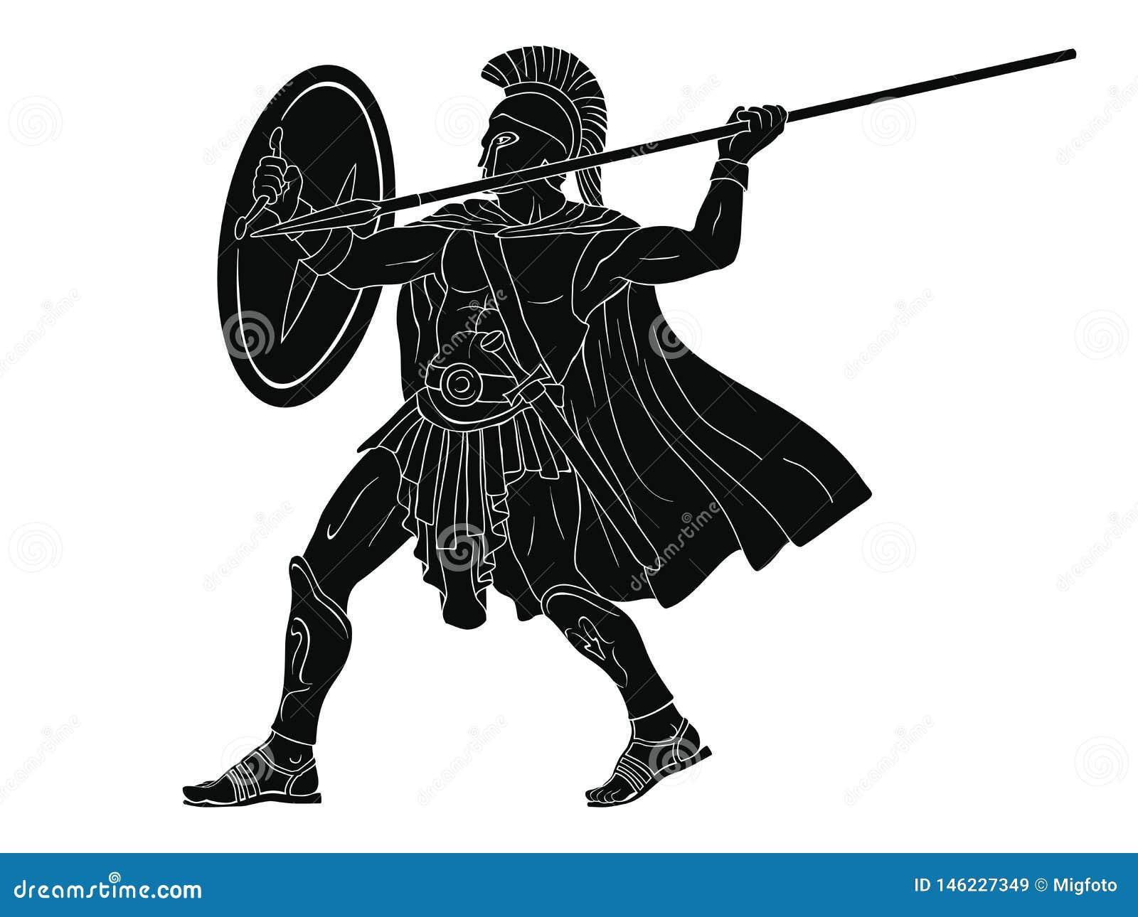 Roman Warrior antigo