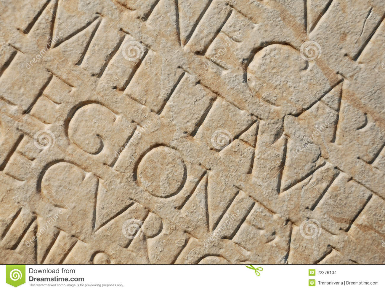 Roman Writing As Background Stock Images Image 22376104