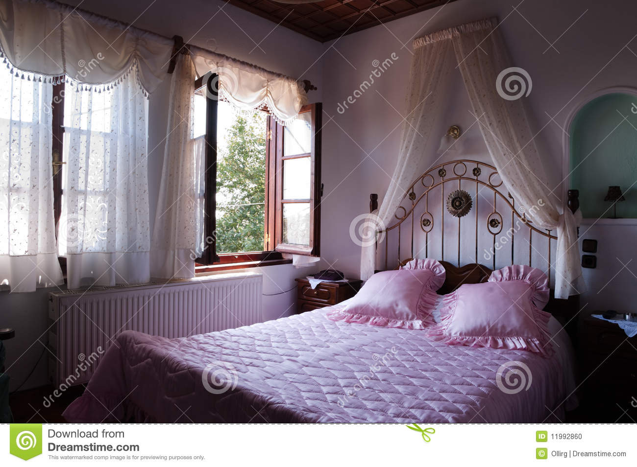 Romance bedroom stock photo image of architecture for Romantic bedroom images