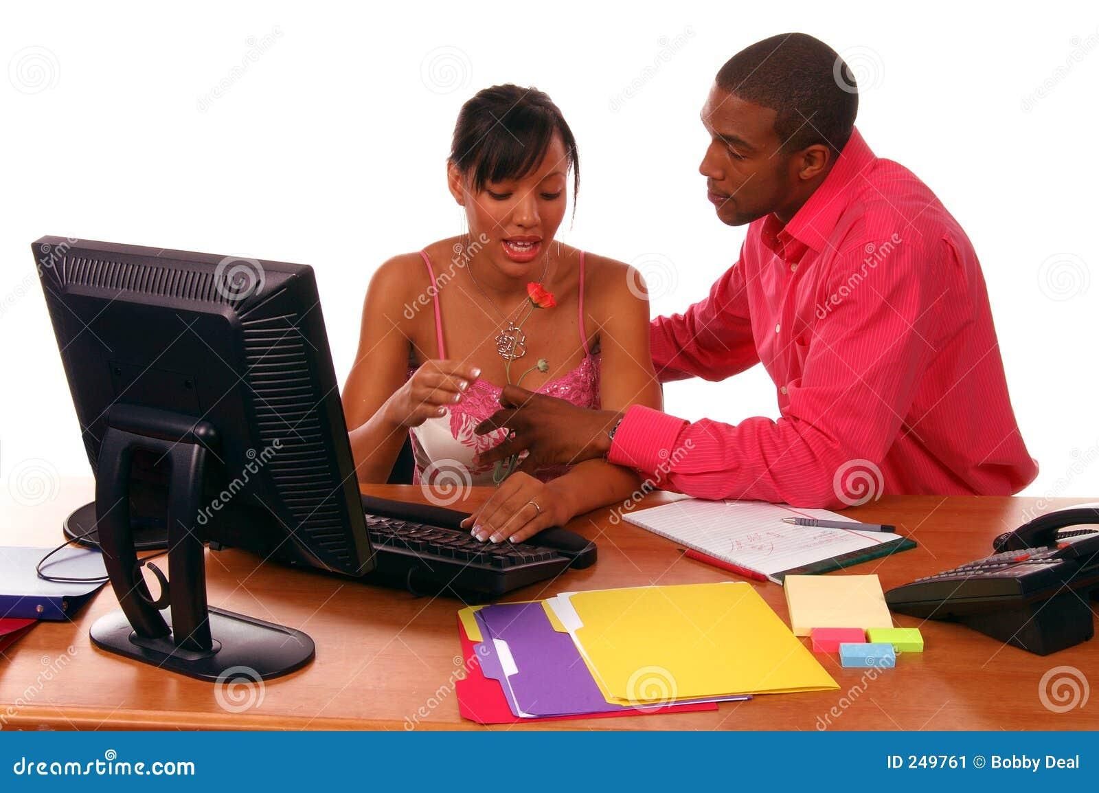 Romance de la oficina