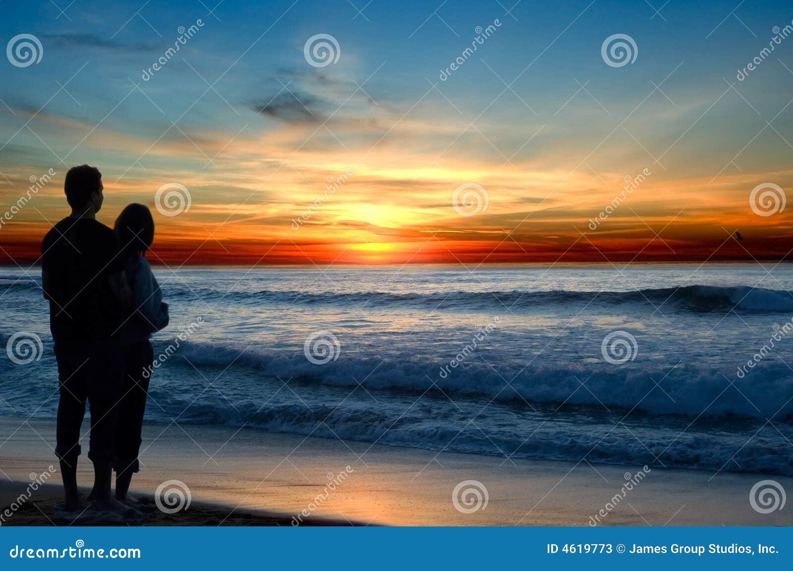 Romance do por do sol