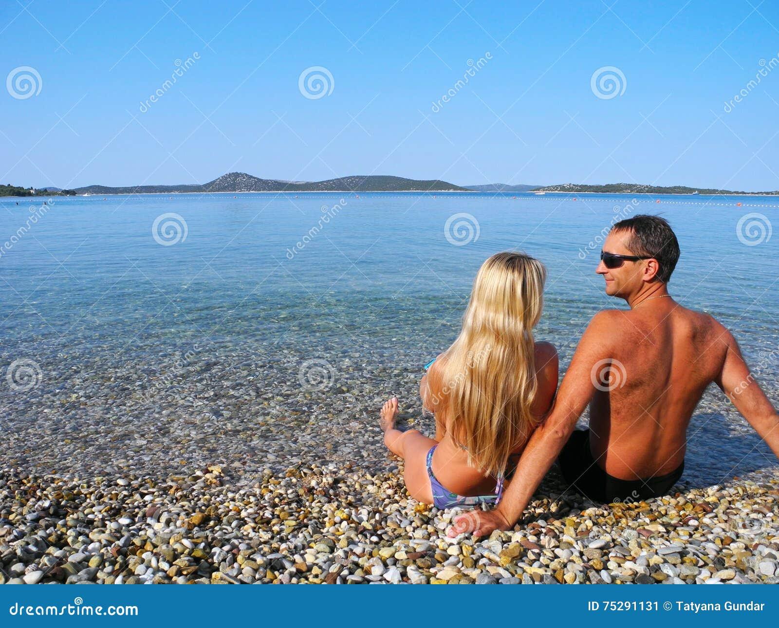 Romance by the sea.