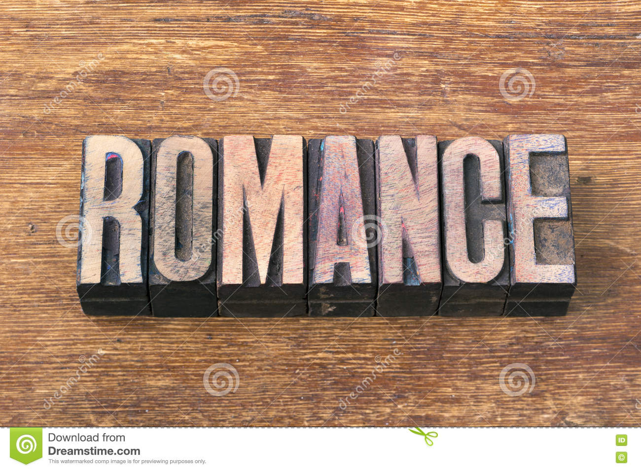 romance word wood stock photo image of wood romance 70722390